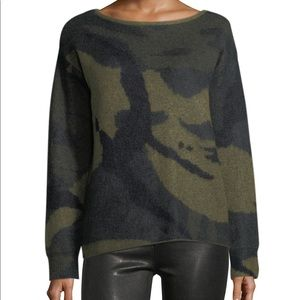 Rag & Bone Camo Sweater